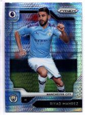 Panini Premier League PRIZM (HYPER Parallel) Mahrez Leicester No. 164
