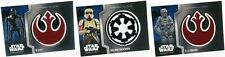 2016 Star Wars Rogue One Mission Briefing Patches Insert Set Single Cards