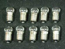 Lionel Trains Light Bulbs # 1449 Screw Base 14 Volt - Clear