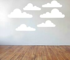 The Simpsons style Clouds Sticker set nursery vinyl decal wall art kids bedroom