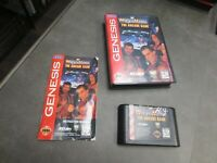 WWF WrestleMania: The Arcade Game (Sega Genesis, 1995) Complete in Box - CIB