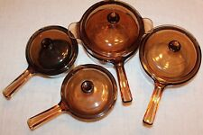Vision Visions Pyrex 9-pc Rangetop Cookware Set Covered Saucepans by CORNING