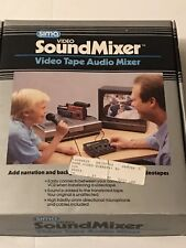NEW Vintage Sima Video SoundMixer Video Tape Audio Mixer - MODEL SSM 1988