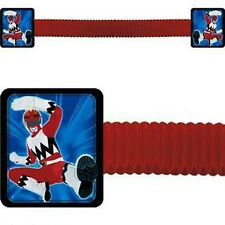 POWER RANGERS HONEYCOMB BANNER ~ Birthday Party Supplies Room Decorations