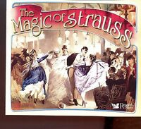 Reader's Digest - The Magic Of Strauss - 3CD Fat Box - MINT