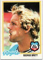 1978 Topps #100 George Brett EX-EXMINT+ Kansas City Royals FREE SHIPPING
