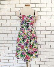 London Times NEW Womens Floral A-Line Dress Size 12