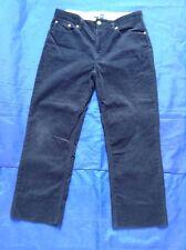 "POLO RALF LAUREN Boy's Navy Blue Corduroy Jeans/Trousers W29"" L23.5"" EUC"