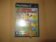 PS2 ANIMAL SOCCER WORLD PAL Reino Unido, NUEVO & Sony PRECINTO DE FÁBRICA