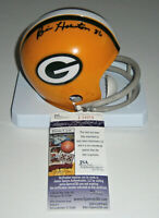 PACKERS Billy Howton signed mini helmet w/ #86 JSA COA AUTO Autograph Green Bay