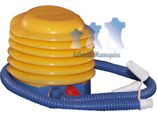 Plastic Bellows Foot Pump