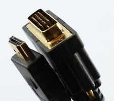 3m Dvi A Hdmi Cable de alambre de plomo-conectar Computadora Pc Laptop A Tv Dvd Lcd Tft