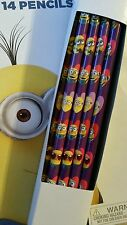 14 pcs DESPICABLE ME PENCILS Birthday Party Supplies Favors Stationery Minions