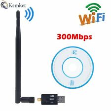 WiFi USB Adapter- 300 mbps  with antenna USB 2.0 and Mini Dongle 802.IIN