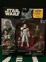 STAR WARS THE FORCE AWAKENS POE DAMERON vs FIRST ORDER SNOWTROOPER ACTION FIGURE