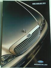 Ford Fairlane Ghia brochure Jan 1995 Australian market