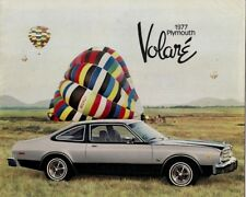 Plymouth volare 1977 USA delle vendite sul Mercato Opuscolo Sedan Coupe Wagon