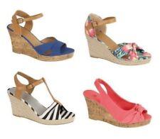 Sandalias y chanclas de mujer sin marca de lona
