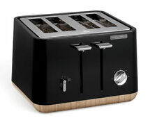Morphy Richards Scandi Aspect 4 Slice Toaster - Black