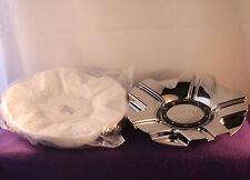 LIMITED 097 CHROME Custom Wheel Center Caps (SET OF 2) P/N # C987-3