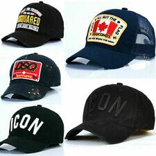 Brand New Icon Dsqicond2 Cap Dsquared2 Black Caps Snapbacks Baseball Cap Hat YJ1