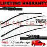 """FRONT AERO WIPER BLADES PAIR 20"""" + 20"""" FOR BMW 1 SERIES CONVERTIBLE E88 2008 ON"""