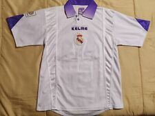 9/10 #15 Morientes Real Madrid 1997 1998 Kelme Shirt Jersey Spain Camiseta UCL