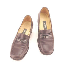 BALLY Loafers Ladies Authentic Used Y4363