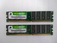 Corsair PC-3200 1 GB DIMM 400 MHz DDR SDRAM Memory (VS2GBKIT400C3)