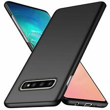 For Samsung Galaxy S10 Case Ultra Slim Hard Back Cover - Matte Black