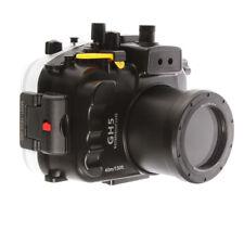 130FT/40M Waterproof Underwater Diving Housing Case For Panasonic DMC-GH5 Camera