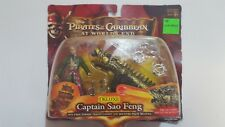 PIRATES OF THE CARIBBEAN,ACTION FIGURE,DELUXE CAPTAIN SAO FENG,UNOPENED.