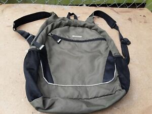 Vintage Eddie Bauer Travel Flight Luggage backpack Adjustable Strap.