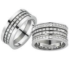 2 Trauringe 925 Silber GRAVUR + Etui Eheringe Verlobungsringe Partnerringe 3322