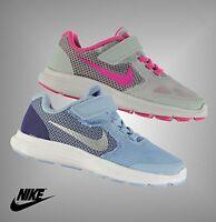 Kids Girls Genuine Nike Swoosh Revolution 3 Trainers Size C10 C11 C12 C13 1 2