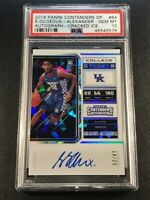 SHAI GILGEOUS ALEXANDER 2018 CONTENDERS #64 CRACKED ICE AUTO ROOKIE /23 PSA 10