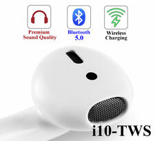 i10 TWS Touch Control  Earbuds for iPhone, Samsung all Bluetooth Devices