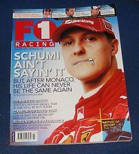 F1 RACING JULY 2006 - SCHUMI AIN'T SAYING IT