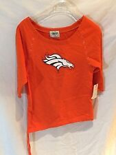 Denver Bronco's ladies shirt-Alyssa Milano Touch Collection-Very Cute-Small