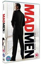 Mad Men: Season Four (DVD, 2011, 4-Disc Set) Brand New Sealed