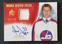 2007-08 SP AUTHENTIC ROOKIE REVIEW PATCH KRIS DRAPER RC AUTO #ED 68/100
