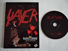 SLAYER Rare DVD Live (Iron Maiden Metallica Judas Priest AC DC Megadeth Kreator)