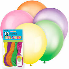 "QUALITY LATEX BALLOONS 12"" Pearlised / Standard Decoration Birthdays Christmas"