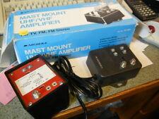Mast Mounted  UHF/VHF amplifier    radio shack 15-1124  NOS