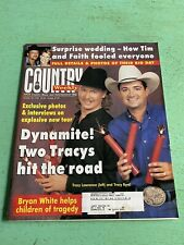 Vintage Country Music Weekly Magazine October 1996 Tracy Lawrence Tracy Byrd