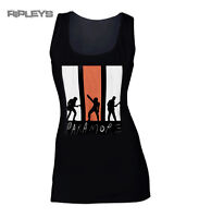 Official Ladies Skinny T Shirt PARAMORE Black LIVE SHADOWS Vest Top All Sizes
