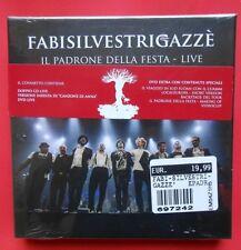 fabisilvestrigazzè il padrone della festa live cd box set 2 cd + 2 dvd max gazzè