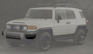 Toyota FJ Cruiser Trail Teams Front Bumper Pieces - OEM NEW!