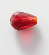 60pcs Swarovski teardrop crystal beads vertical hole color&quantity optional