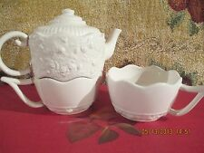 ROYAL ALBERT ~ OLD COUNTRY ROSES ENGLISH BUFFET  TEAPOT ~ SERVICE FOR TWO